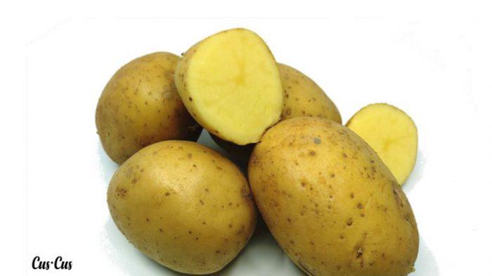 Patatas proporción